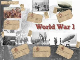 Causes of World War 1