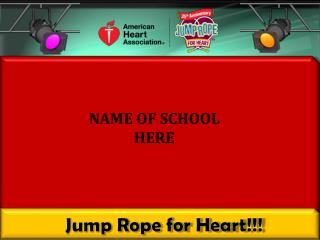 Jump Rope for Heart!!!