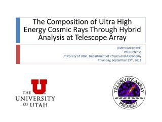 The Composition of Ultra High Energy Cosmic Rays Through Hybrid Analysis at Telescope Array