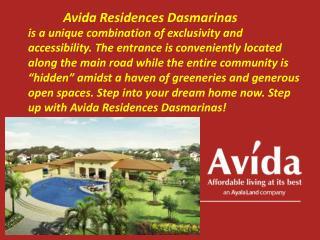 Avida Residences Dasmarinas