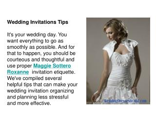 Wedding Invitations Tips