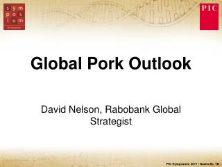 Global Pork Outlook