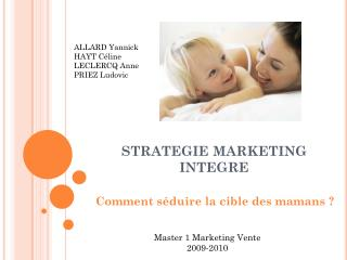 STRATEGIE MARKETING INTEGRE