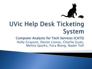 UVic  Help Desk Ticketing System