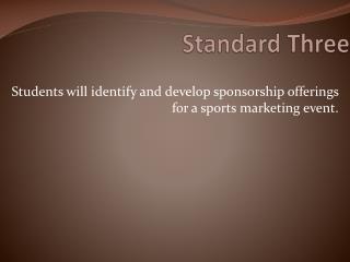 Standard  Three