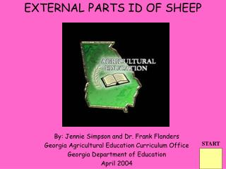 EXTERNAL PARTS ID OF SHEEP