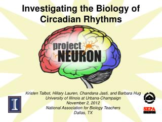 Investigating the Biology of Circadian Rhythms