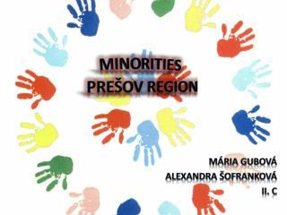 Minorities Prešov region