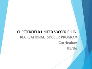 CHESTERFIELD UNITED SOCCER CLUB