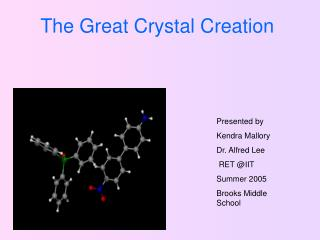 The Great Crystal Creation