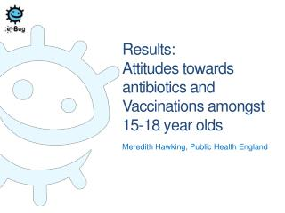 Results: Attitudes towards antibiotics and Vaccinations amongst 15-18 year olds
