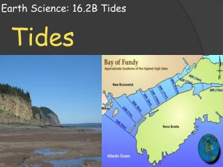 Earth Science: 16.2B Tides