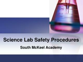 Science Lab Safety Procedures