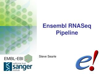 Ensembl RNASeq  Pipeline