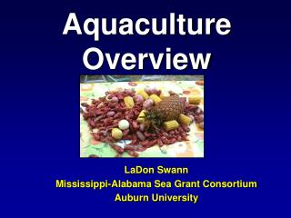 Aquaculture Overview
