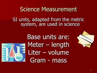 Science Measurement