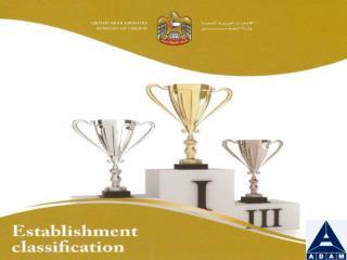 Establishment Classification