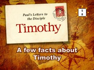 A few facts about Timothy