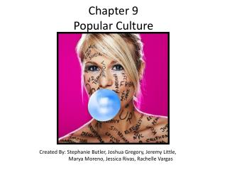 Chapter 9 Popular Culture