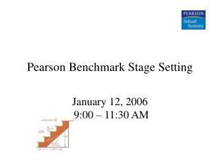 Pearson Benchmark Stage Setting
