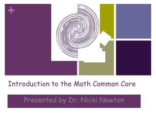 Introduction to the Math Common Core