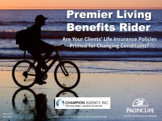 Premier Living Benefits Rider