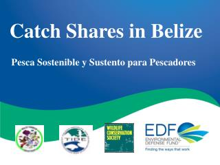 Catch Shares in Belize