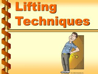 Lifting Techniques