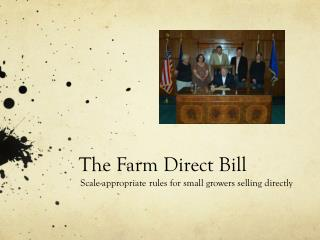 The Farm Direct Bill