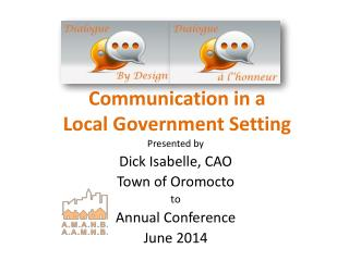 Communication in a Local Government Setting