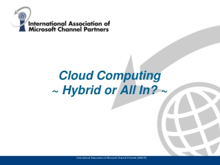 International Association of Microsoft Channel Partners IAMCP