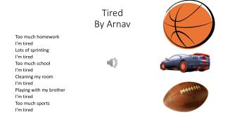 Tired By Arnav