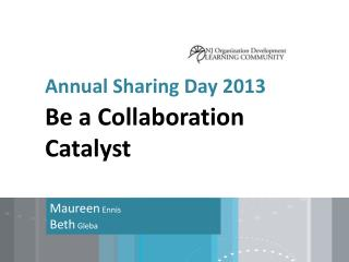 Annual Sharing Day 2013