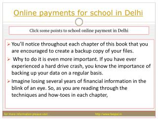 Payment gateway for best online payment for school in delhi