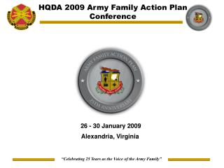 HQDA 2009 Army Family Action Plan Conference