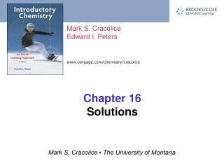 Chapter 16 Solutions