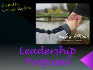 Leadership Proposal