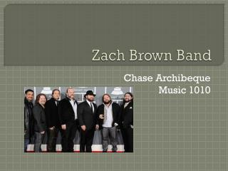 Zach Brown Band