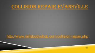 Collision repair evansville