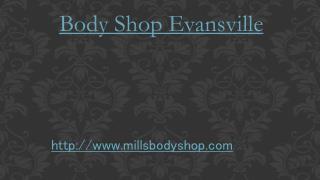 Body Shop Evansville
