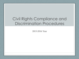 Civil Rights Compliance