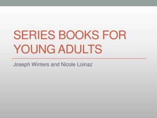 Series Books For Young Adults