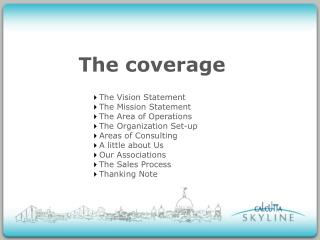 The coverage