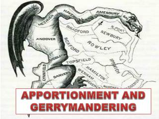 APPORTIONMENT AND GERRYMANDERING