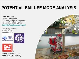 POTENTIAL FAILURE MODE ANALYSIS