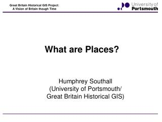 What are Places?