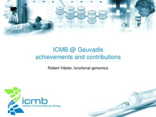 ICMB @ Geuvadis achievements and contributions