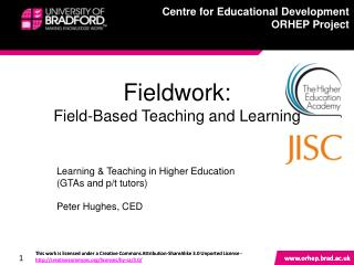 Fieldwork: Field-Based Teaching and Learning