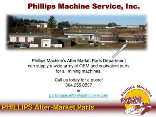 Phillips Machine Service, Inc.