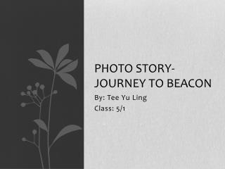 Photo Story- Journey to beacon